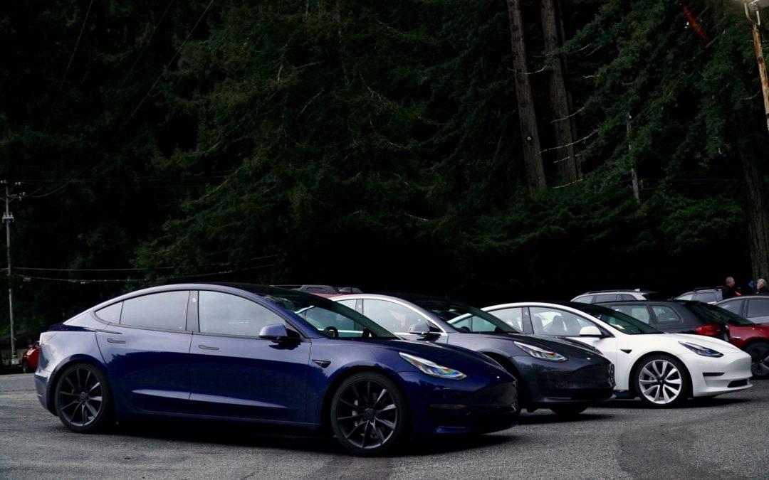 California Trip 2 - Tesla Meetup At Alice's Restaurant ...