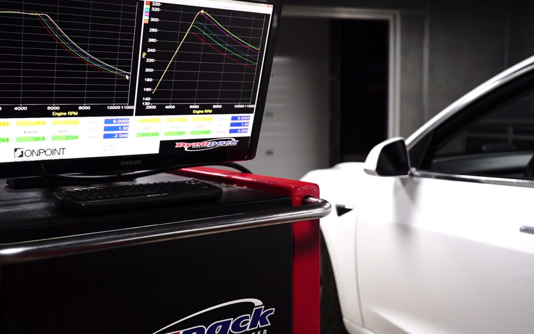 Tesla Model 3 LR RWD Dyno Testing At Various SOC