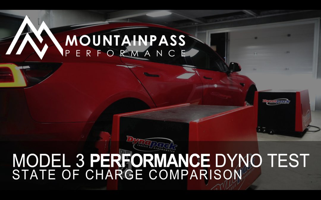 Tesla Performance Model 3 Dyno Testing At Various SOC