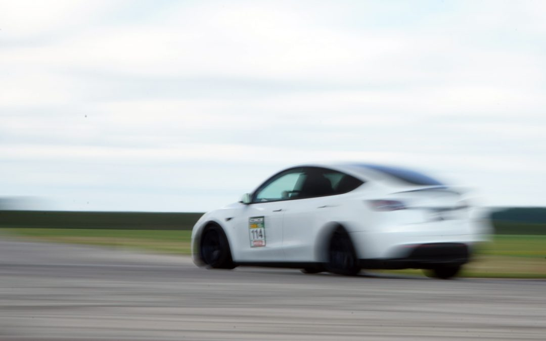 Yes, we took our Model Y to a time attack event. It was fast.