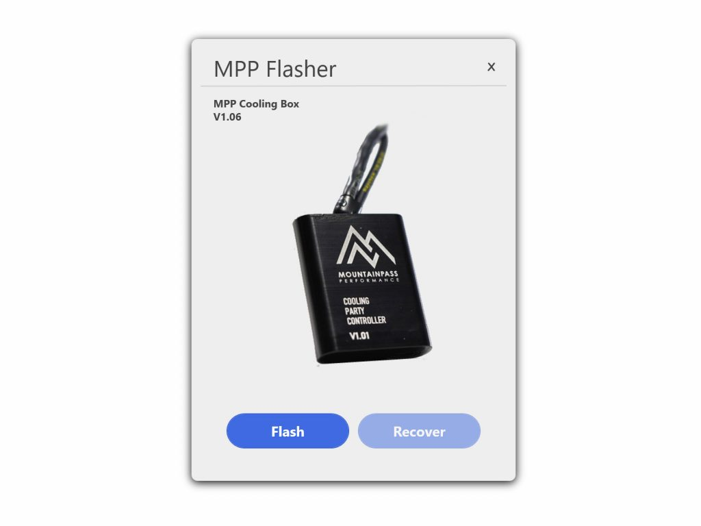 MPP Tesla flashing utility for Mountain Pass Performance software devices