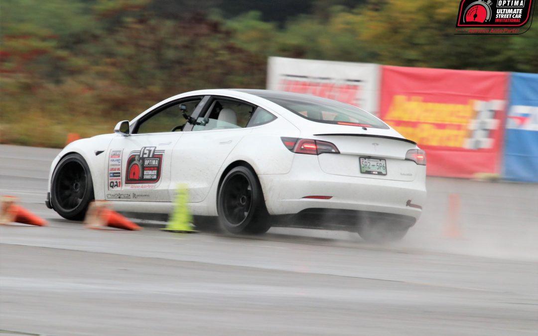 John's Tesla Model 3 Performance – OPTIMA GTE 157