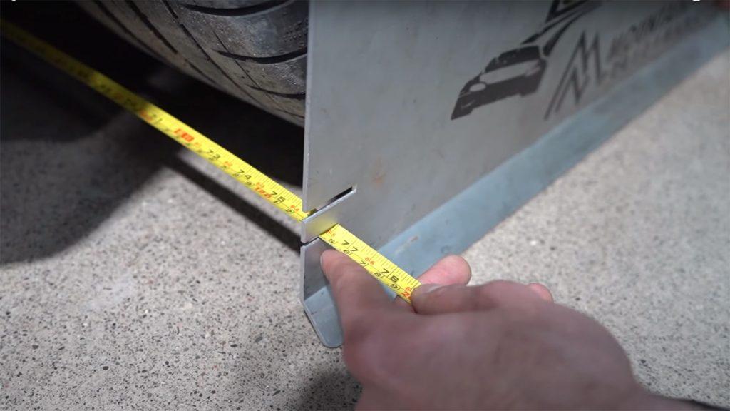 Checking Tesla Toe with Toe Plates